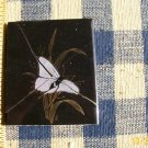 Mosaic Tiles *~22k GOLD BUTTERFLY on Black*~ 1 Broken