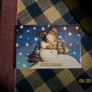 Mosaic Tiles *~SNOWY SNOWMAN*~1 LG. HM Kiln Fired