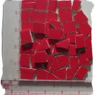 ~*BRIGHT RED~*   50+ Fillers Mosaic Tiles