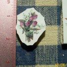 Mosaic Tiles *~TULIP BOUQUET*~1 Rnd. HM Kiln Fired