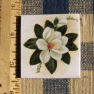 Mosaic Tiles *~WHITE MAGNOLIA*~ 1 HM Focal Kiln Fired