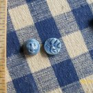 ~*FACE CHARMS BEADS~~- 2 HM BLUEJEWELRY PIECES