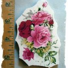 Mosaic Tiles *~PINK ROSE BOUQUET*~1 LG. HM Kiln Fired