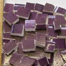Handpainted*~ROYAL PURPLE FILLERS~*50 Mosaic Tiles