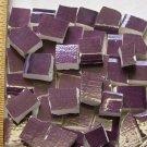 Handpainted*~ROYAL PURPLE FILLERS~*50 Mosaic Tiles