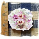 Mosaic Tiles *~BEAUTIFUL PASTEL PANSIES*~1 LG. HM Focal
