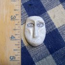 Mosaic Tiles ~SAND BAR TRIBAL FACE ~ 1  HM Clay Kiln