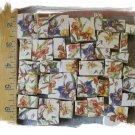 ~*BEAUTIFUL IRIS CHINTZ~* 50+ Mosaic Tiles