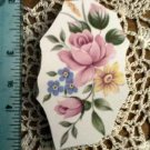 Mosaic Tiles *~PINK ROSE & DAISY*~1 LG. HM Kiln Fired