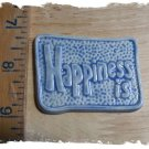 Mosaic Tiles *~L. BLUE HAPPINESS~*1 LG  Kiln Fired