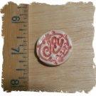 FUN Mosaic Tiles ~*JOY*~1 HM Clay Kiln Fired