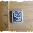 FUN Mosaic Tiles ~*GOOD LUCK*~1 HM Clay Kiln Fired