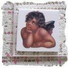 ~*Charming ~*ANGEL RAPHAEL*~ 1 Lg. Mosaic Tiles