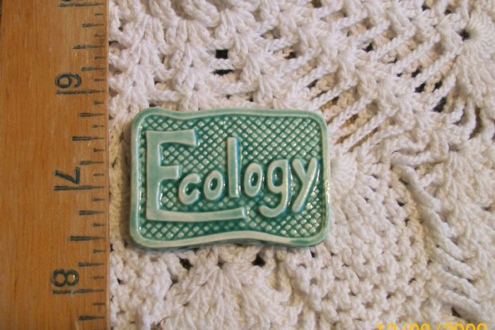 Mosaic Tile ~GREEN ECOLOGY ~1 HM Clay Kiln Fired Tiles