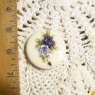 Mosaic Tiles ~*BLUE ROSES ~1 HM Pendant - Pin  Kiln