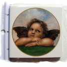 Mosaic Tiles*~ANGEL RAPHAEL*~1 Large HM Kiln Fired Tile