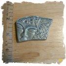 Lt. Blue Stone*~MODERN FACE~* 1  Pendant - Mosaic Tiles