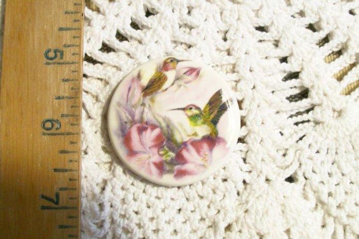 Mosaic Tiles ~*HUMMINGBIRD ~1 HM Pendant - Pin  Kiln