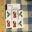 Mosaic Tiles~*XMAS SANTA SET*~ 7 FOCALS~Kiln Fired