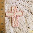 Mosaic Tile ~JESUS CROSS ~1 HM Clay Kiln Fired Tiles