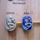 Handmade ~MERMAID PIN~ HM Kiln Fired Jewelry U-Choose