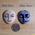 1 Pottery Embellishment*~LG LADY FACE PENDANT~*U-choose