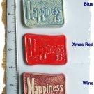 Embellisment*~HAPPINESS~*1  Pendant -Mosaic Tiles