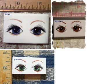 Mosaic Tiles  *~PRETTY EYES~* Assortment -1 Lg. Focal