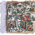 Jungle Tiles ~~RAIN FOREST CHINTZ ~~ 50+ Mosaic Tiles