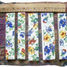 *~COUNTRY  FLORAL CHINTZ~* 5 Cut-2-Fit Mosaic Tiles