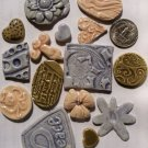 Mosaic Tiles~EMBOSSED ORIGINALS~15 Kiln Fired HM Clay