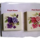 Mosaic Tiles ~~PURPLE or PINK ROSE BOUQUETS~~ 1 Focal