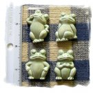 Adoable Mosaic Tiles *~PATINA FROGS~* 4 HM Pottery Clay