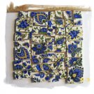 Elegant *~BLUE & 22K GOLD CHINTZ~*  50+ Mosaic Tiles