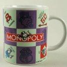 Monopoly Hasbro Coffee Mug Cup - Game Pieces 2002