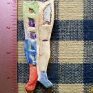 Mosaic Tiles ~*WACKY LEGS*~ 1 LG. HM Clay Kiln Fired