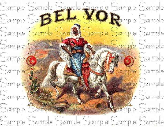 Vintage Bel Yor Digital Cigar Art Ephemera Scrapbooking Altered Art