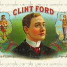 Clint Ford Digital Vintage Cigar Art Ephemera Scrapbooking Altered Art