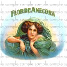 Florade Anecora Digital Vintage Cigar Box Art Ephemera Scrapbooking Altered Art