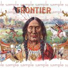 Frontier Vintage Digital Cigar Box Art Ephemera Scrapbooking Altered Art