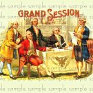 Grand Sesson Vintage Digital Cigar Box Art Ephemera Scrapbooking Altered Art