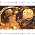 Harvest Moon Vintage Digital Cigar Box Art Ephemera Scrapbooking Altered Art