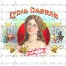 Lydia Darram Vintage Digital Cigar Box Art Ephemera Scrapbooking Altered Art Decoupage