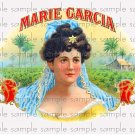 Marie Garcia Vintage Digital Cigar Box Art Ephemera Scrapbooking Altered Art Decoupage