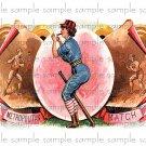 Metropolitan Match Vintage Digital Cigar Box Art Ephemera Scrapbooking Altered Art Decoupage