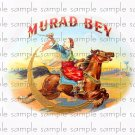 Murad Bey Vintage Digital Cigar Box Art Ephemera Scrapbooking Altered Art Decoupage