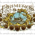 Primero Vintage Digital Cigar Box Art Ephemera Scrapbooking Altered Art Decoupage