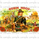 Robin Hood Vintage Digital Cigar Box Art Ephemera Scrapbooking Altered Art Decoupage
