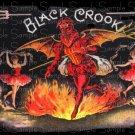 Black Crook Vintage Digital Cigar Box Art Ephemera Scrapbooking Altered Art Decoupage
