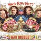 War Bouquet Digital Cigar Box Art Ephemera Scrapbooking Altered Art Decoupage